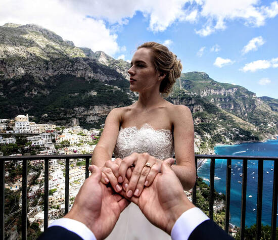 Wedding in Positano, Villa Tre Ville by Francese Photography