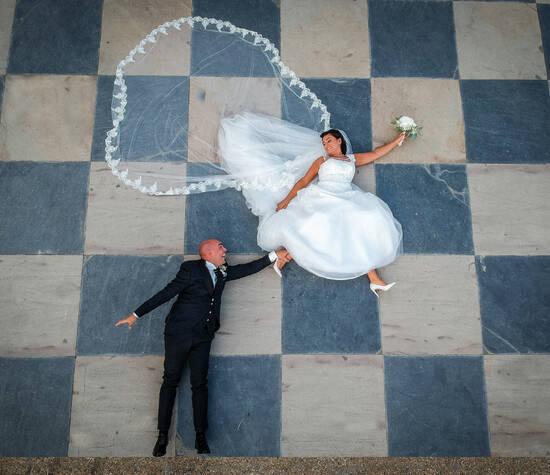 Foto Sposi con Drone