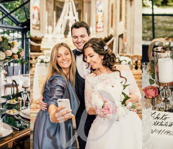 un romantico matrimonio sul Lago Maggiore