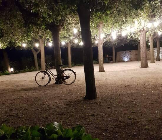 Il Castellano, giardino dei Lecci