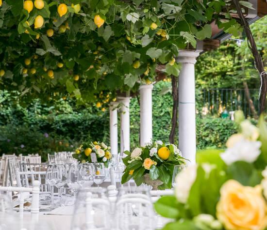 Allestimento Matrimonio Luglio Limoni Wedding Planner Designer For Once In Your Life Milano