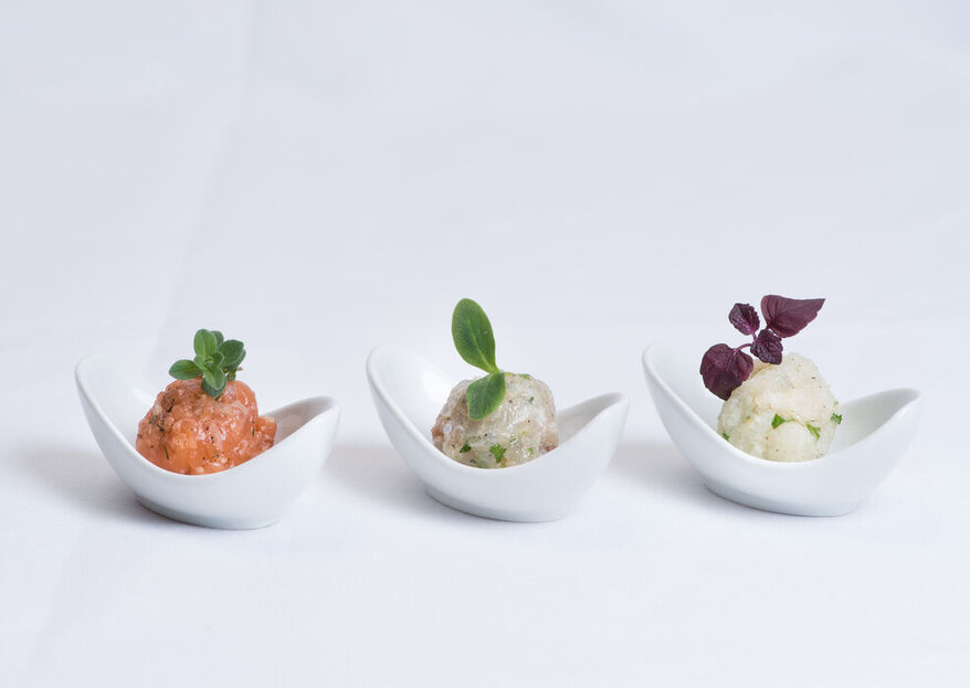 Una combinazione perfetta di colori, profumi e sapori grazie al menù ideale per le nozze!