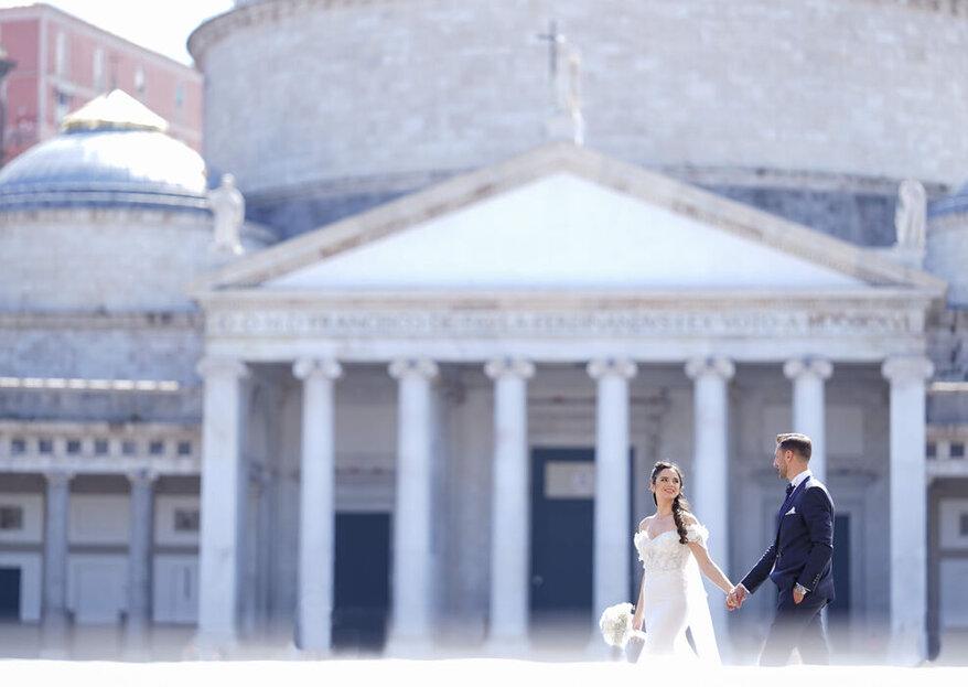 """Sobria, elegante ed """"in equilibrio"""": la fotografia nuziale di Luca Flagiello!"""