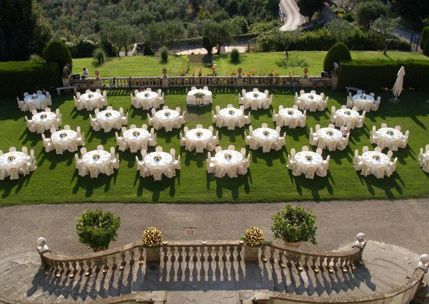 Tenuta di Artimino, location ideale per dirvi Sì nel panorama della campagna toscana!