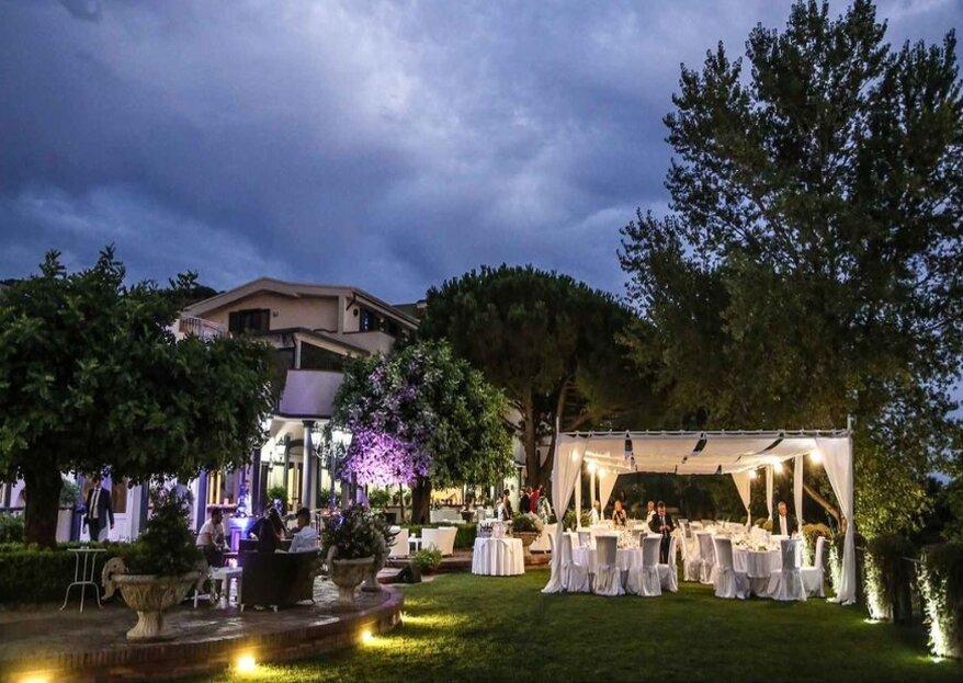 Villa Andrea di Isernia: le tue nozze tra le rocce laviche ed il limpido cielo del Mediterraneo