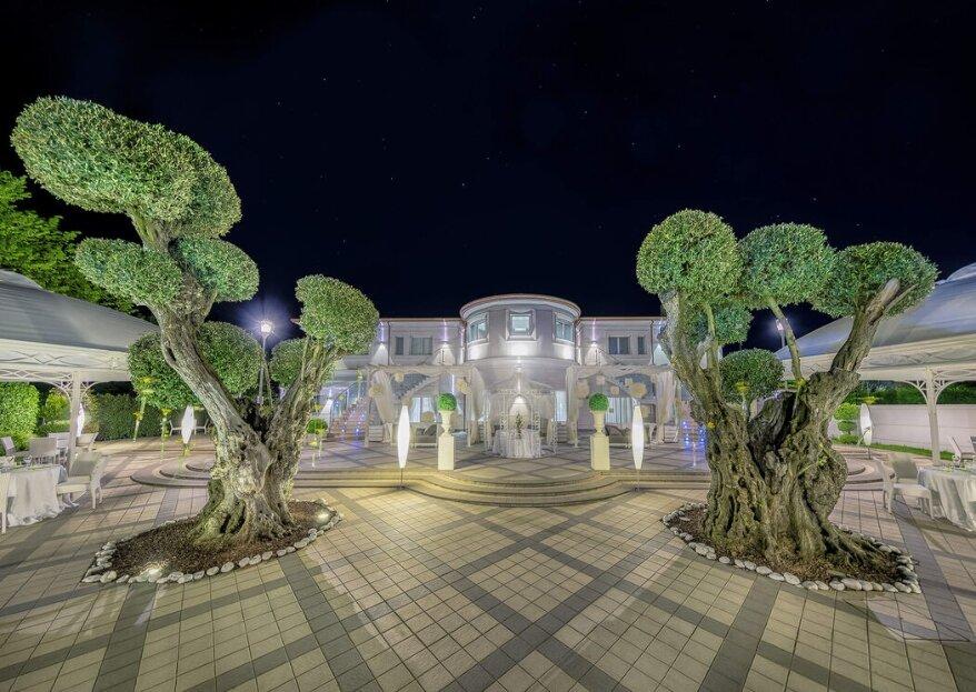 Le Due Torri Event è la cornice ideale, ricca di fascino, per le vostre nozze da sogno!