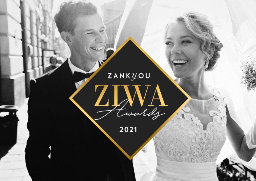 Premi ZIWA 2021, arrivano i premi più prestigiosi del settore wedding