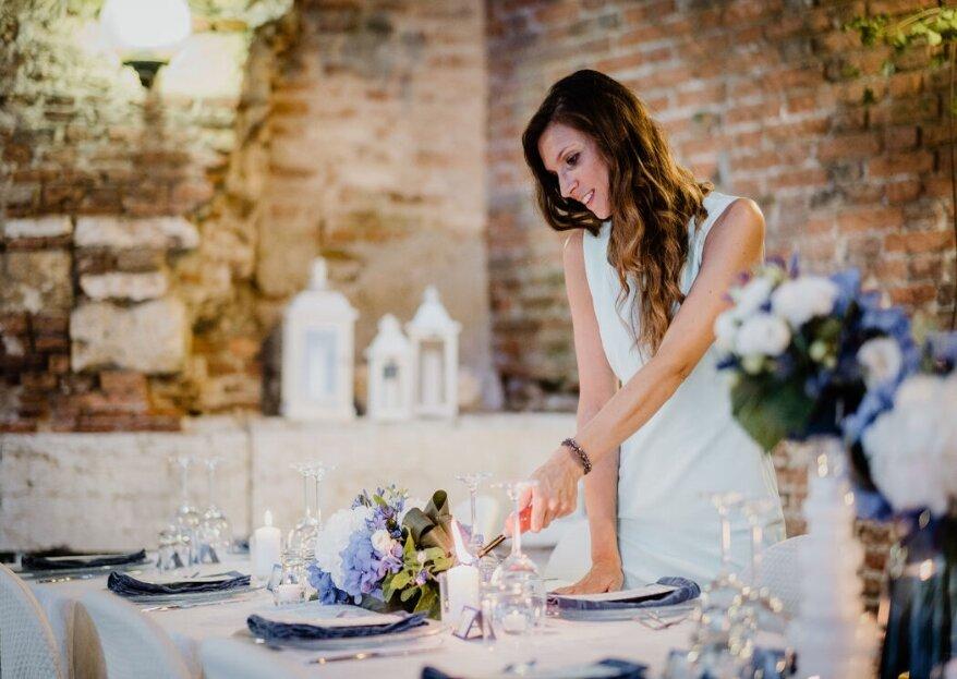 Bonafini Events personalizzerà le vostre nozze regalandovi un giorno davvero da favola!