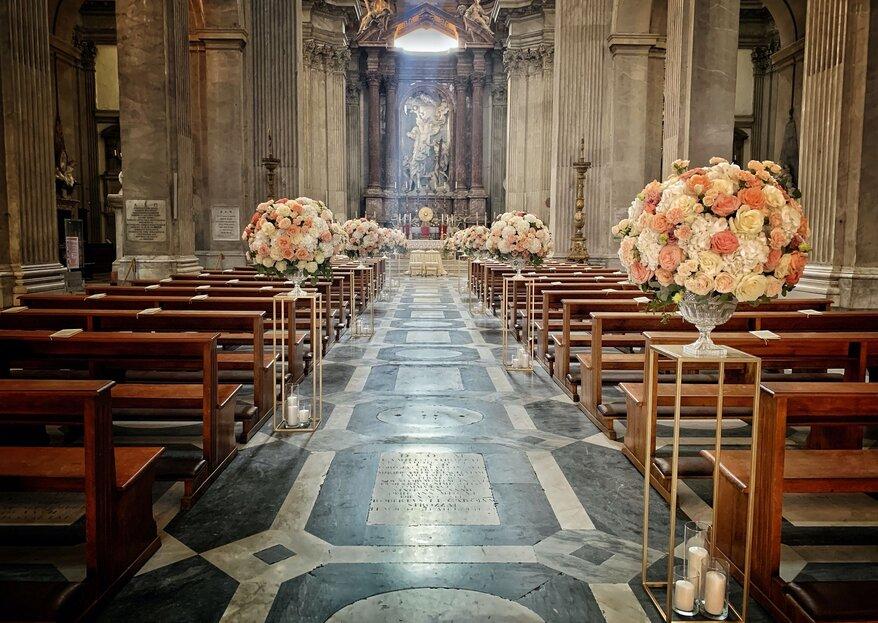 Quanto costano i fiori per un matrimonio?