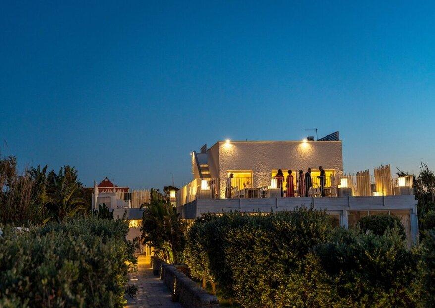 Wonder Beach Club, il contesto perfetto per nozze moderne ed eleganti, affacciate sul mare!
