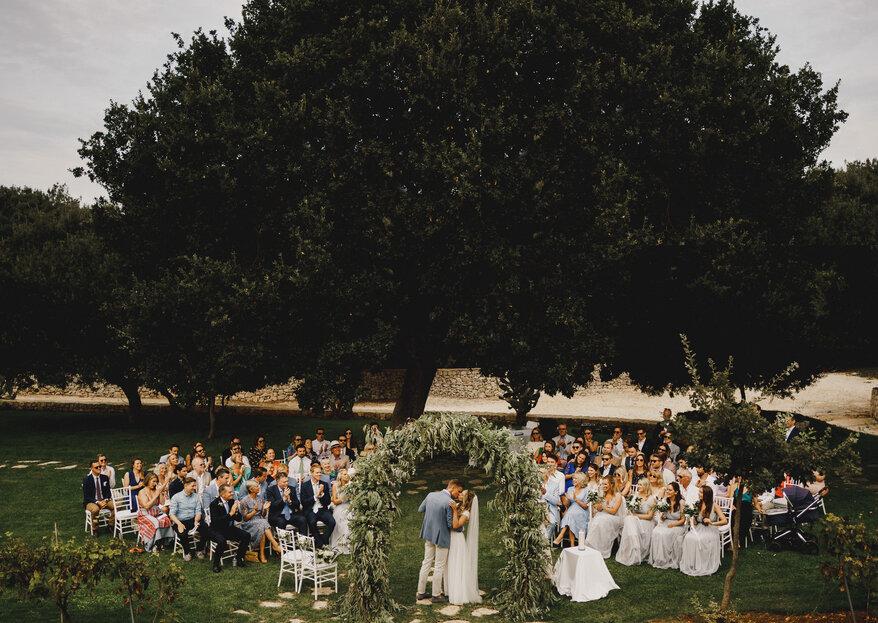 Come scegliere la location di nozze in 5 semplici passi