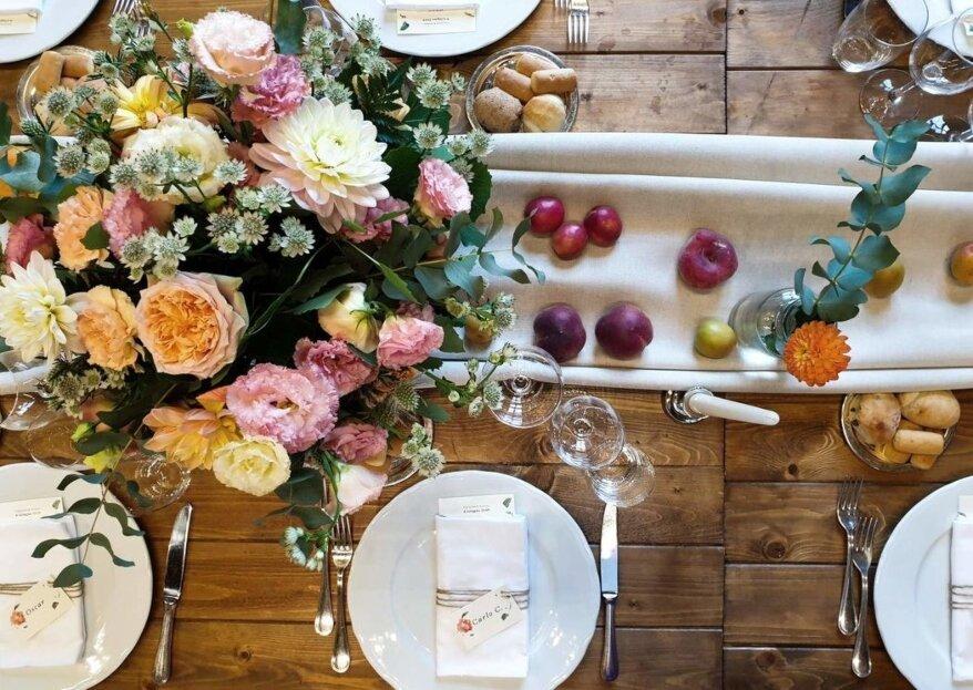 Non solo fiori per le tue nozze, sperimenta con le decorazioni...