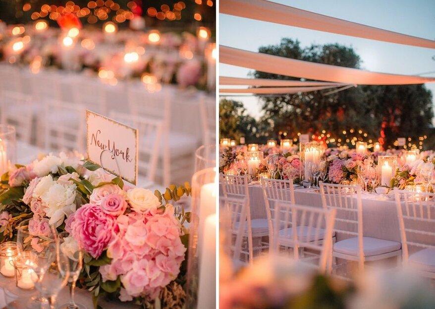 FG Eventi: il tuo matrimonio come caleidoscopio di decorazioni e lusso!