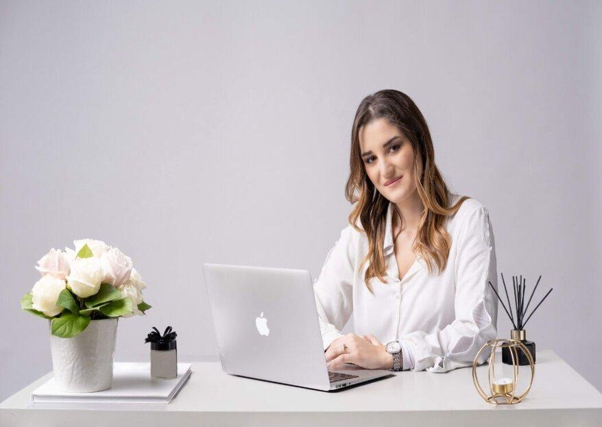 Nicole Sparvieri - Wedding & Event Planner trasformerà il vostro matrimonio in romantica realtà!