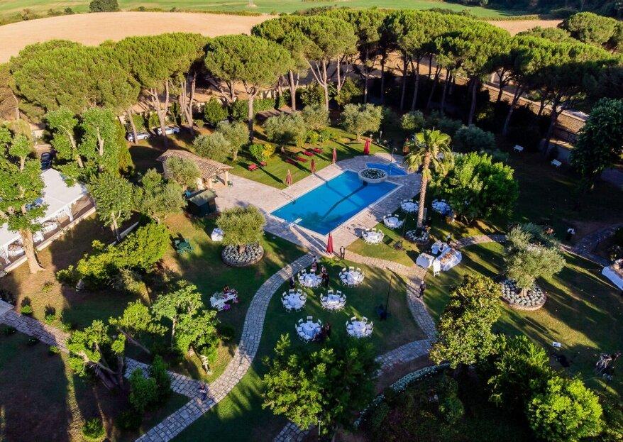 Villa Marozzi: un matrimonio moderno tra storia e natura