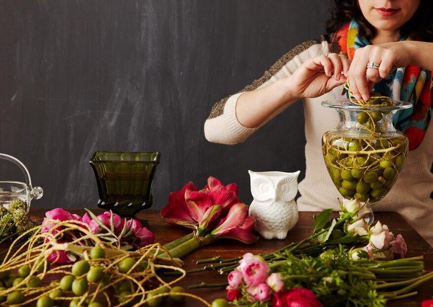 Chi si cela dietro l'imperdibile workshop di Tulipina a Roma? Un'intervista a Anthea Studio Floral Design