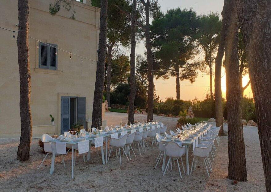 Un luogo incantato che vi faccia sconnettere totalmente nel giorno delle vostre nozze!