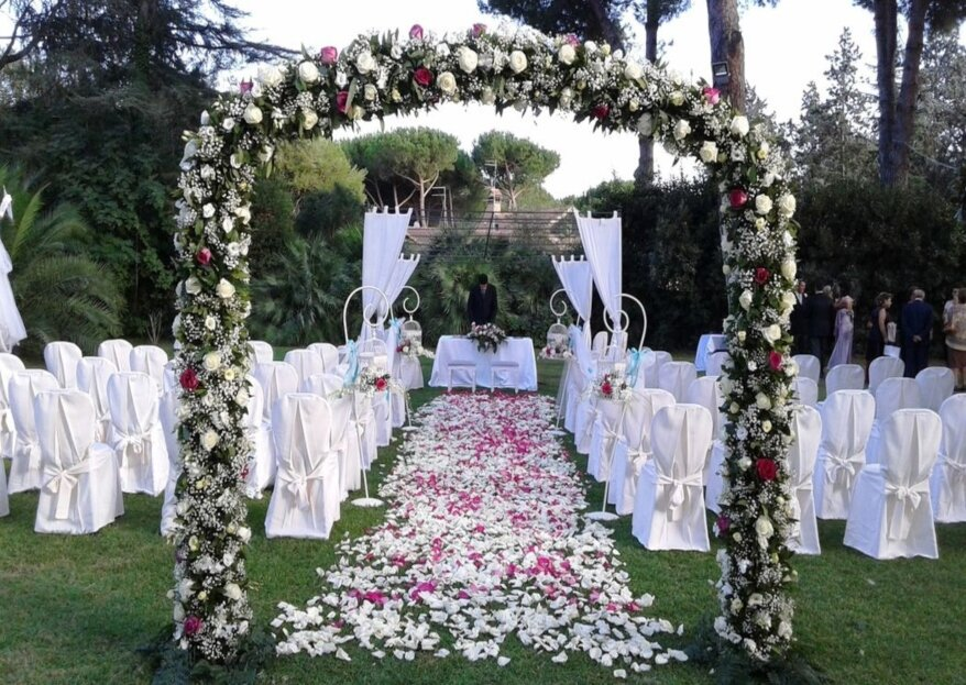 Quando la location del tuo matrimonio ti dà tutto quello di cui hai bisogno: Villa Marta