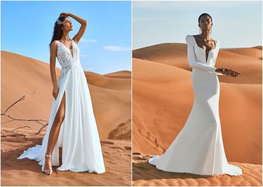 Tutto quello che dovete sapere sulle forme degli abiti da sposa per il vostro matrimonio...