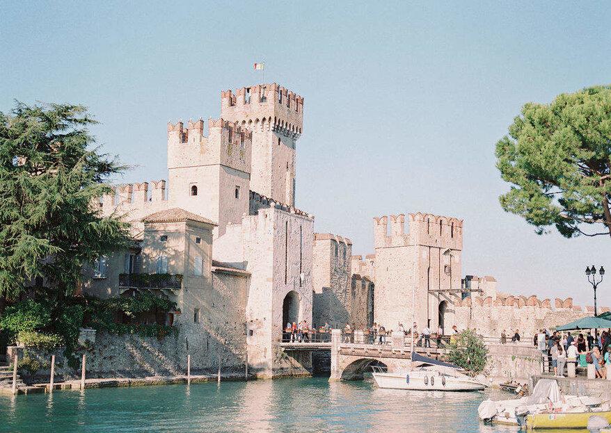 Villa Cortine Palace: il tuo matrimonio è un'opera d'arte in quel di Sirmione