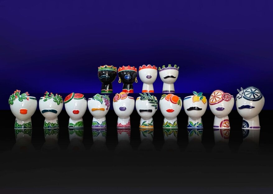 Maninterra Ceramica di Laura La greca confezionerà per il vostro matrimonio bomboniere davvero uniche e preziose...