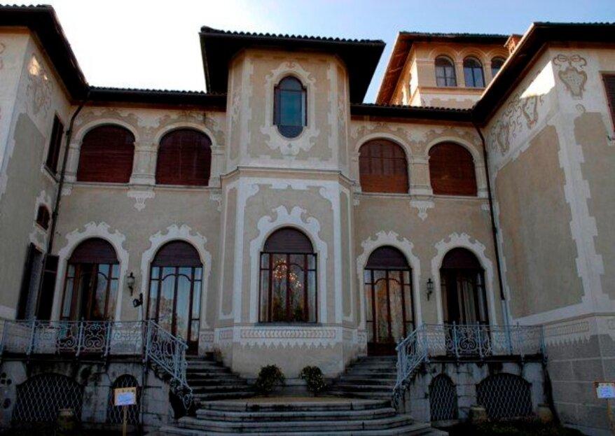 Il Castello Benso di Mercenasco, un'antica dimora piemontese farà da cornice alle vostre nozze da fiaba!