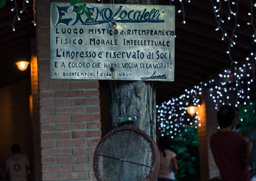 Il Bosco Eremo Locatelli: la natura è invitata a nozze!