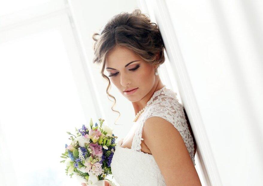 Acconciatura e make up per un matrimonio classico: 3 proposte per 1 solo stile!