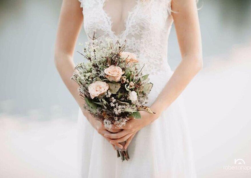 Ditelo con un fiore...se poi è durante le vostre nozze ancora meglio!