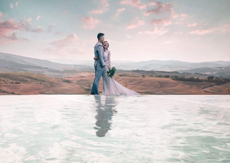 Spettacolari location dove poter celebrare le vostre nozze nel 2021!