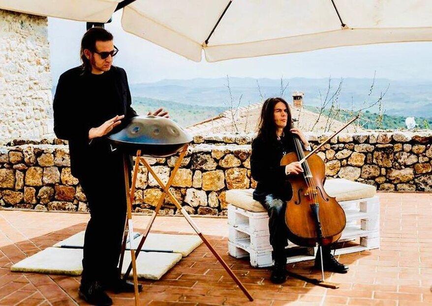 Davide Friello Music for Handpan: l'artista che non può mancare alle tue nozze