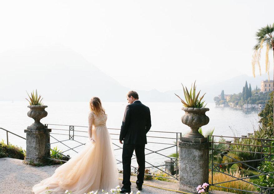 Abiti da sposa color champagne: l'eleganza di un colore passepartout