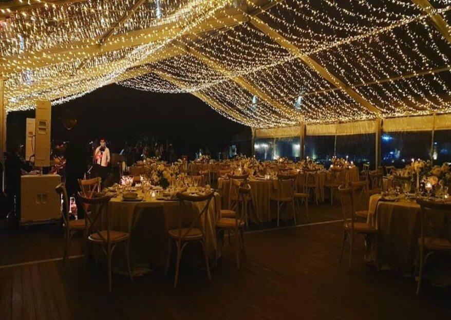 Vision Tents: il ricevimento di nozze come lo vuoi tu!