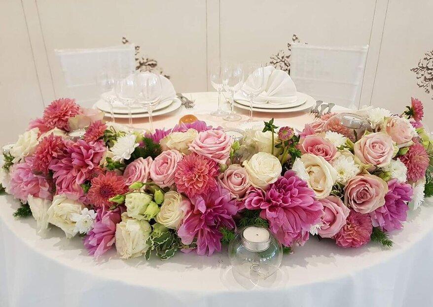 La Riviera - Fiorai a Roma dal 1956, un laboratorio floreale pieno di creatività, colore e profumi per le vostre nozze!