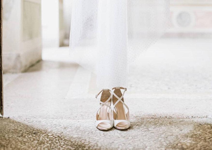 Come scegliere le scarpe da sposa in 5 semplici passi