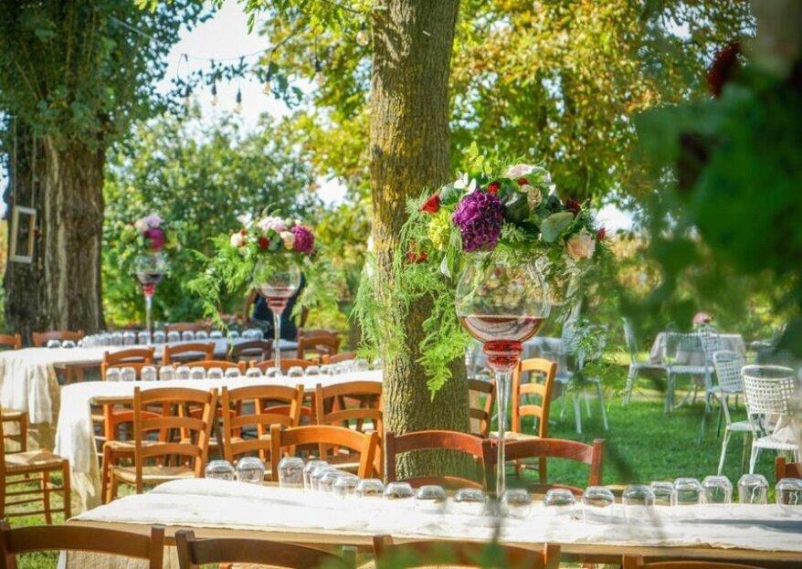 Mattia Eventi creerà per le vostre nozze vere e proprieopere d'arte profumate e delle vostre sfumature preferite