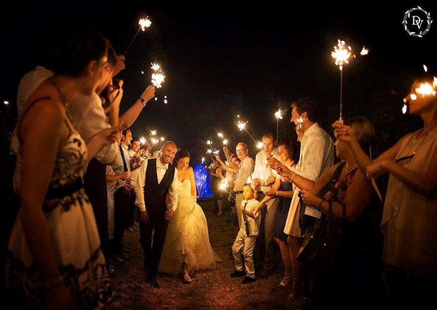 La creatività e l'intraprendenza di Dab Wedding renderanno unico il vostro grande giorno