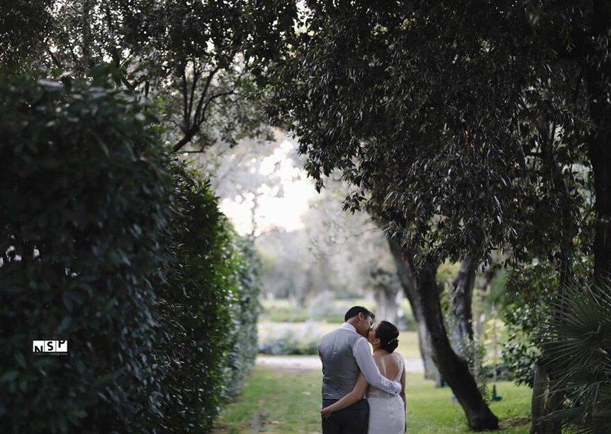 Come un'oasi nel deserto, la location ideale per le tue nozze!