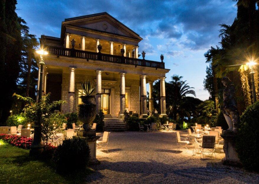 Villa Cortine Palace: sposarsi a Sirmione in una cornice pittoresca