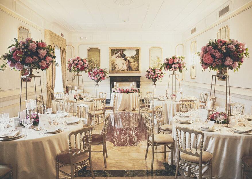 Addobbi floreali per il tuo matrimonio: i consigli dell'esperto