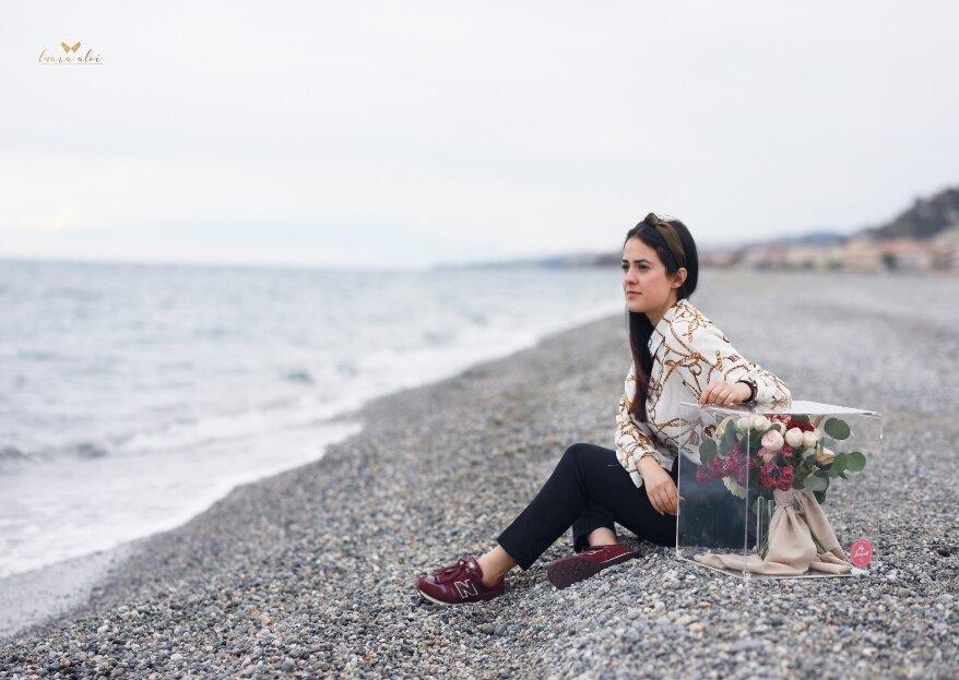 Luana Aloi Weddings and Events: il primo bouquet da sposa da personalizzare con le vostre iniziali ricamate