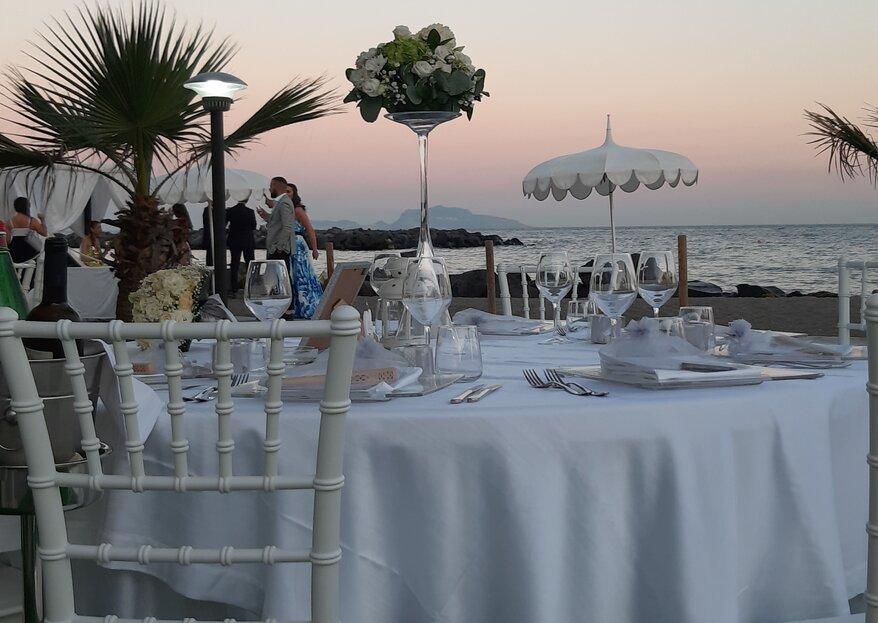 Enea Palace, un vero angolo di paradiso affacciato sul mare dove scambiarvi romantiche promesse nuziali...