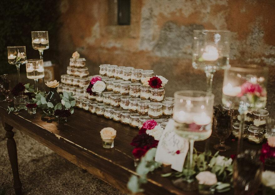 """Torte nuziali in barattolo: il """"piccolo grande"""" dolce firmato Magnolia Eventi..."""