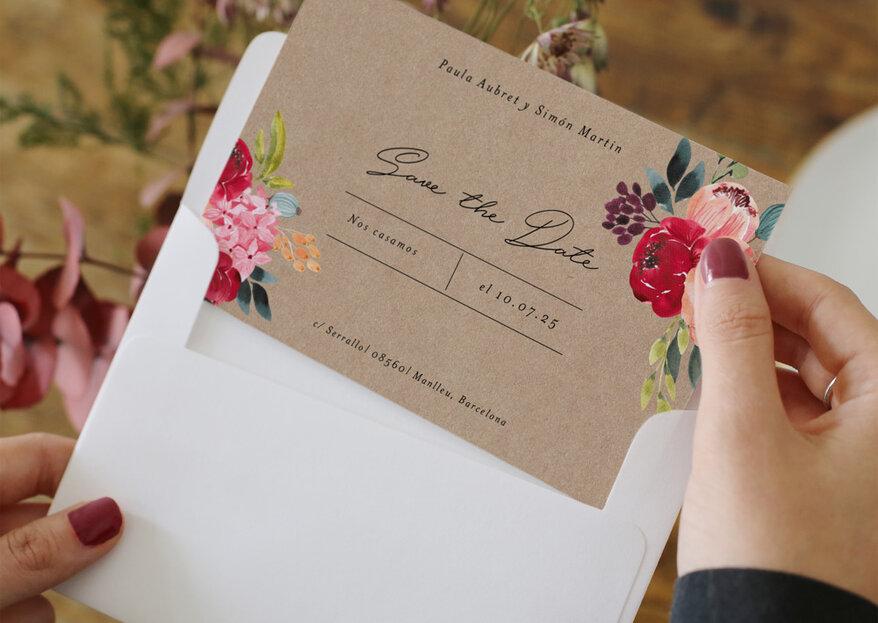 Save the date matrimonio: la maniera più originale per annunciare che ti sposi!