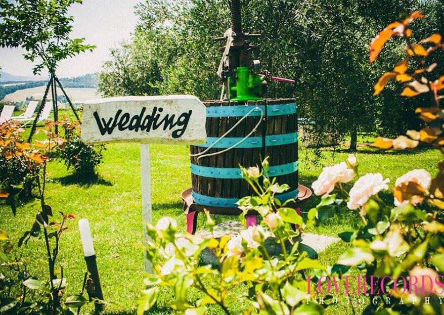 8 idee originali per organizzare un matrimonio low-cost!