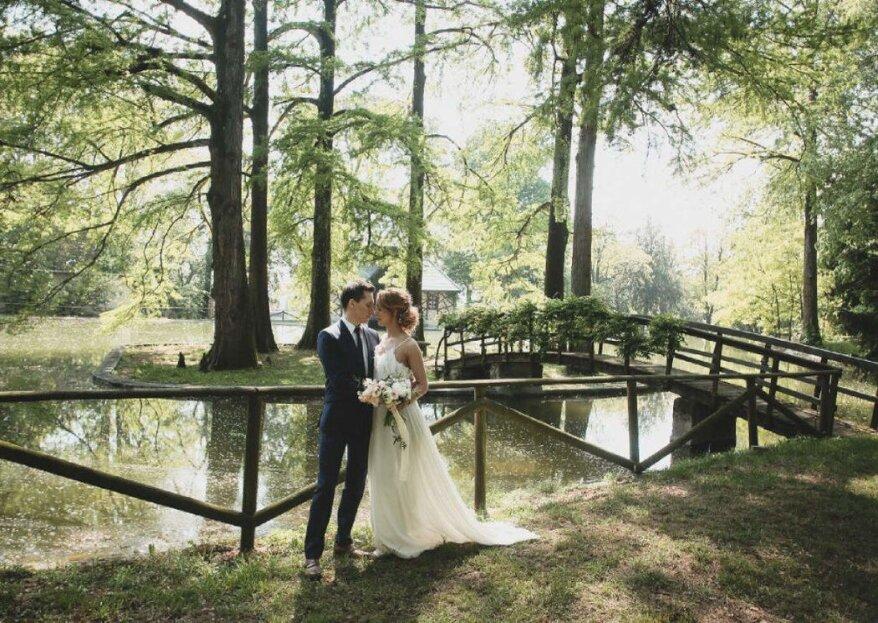 Villa Mosconi Bertani - Tenuta Santa Maria vi aprirà le porte di un luogo fiabesco, per le nozze che avete sempre sognato!