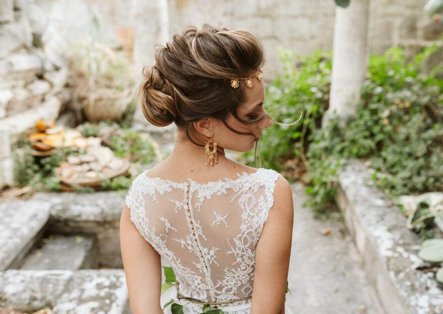 MICHELA ROBERTI SPOSE è sempre alla ricerca dell'acconciatura perfetta, indimenticabile, per le sue spose...