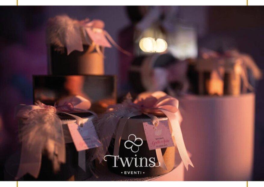 Twins Eventi vi conquisterà con progetti matrimoniali dai dettagli perfetti e altamente scenografici