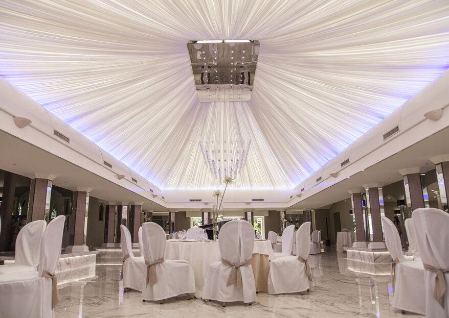 Villa Demetra, la candida scenografia per il matrimonio perfetto