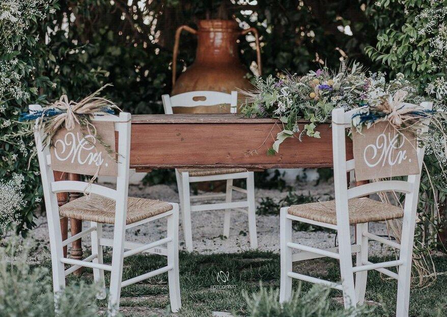 Ecco alcune delle location che gli sposi scelgono di più per un ricevimento romantico...